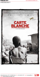 Carte Blanche Printable Press Kit